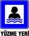 Yüzme Yeri Levhası